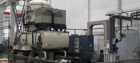Vertical Vacuum Oil Quenching Furnace | ECM Technologies - four sous vide vertical trempe huile | ECM Technologies