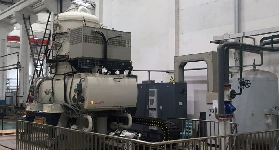 Vertical Vacuum Oil Quenching Furnace   ECM Technologies - four sous vide vertical trempe huile   ECM Technologies