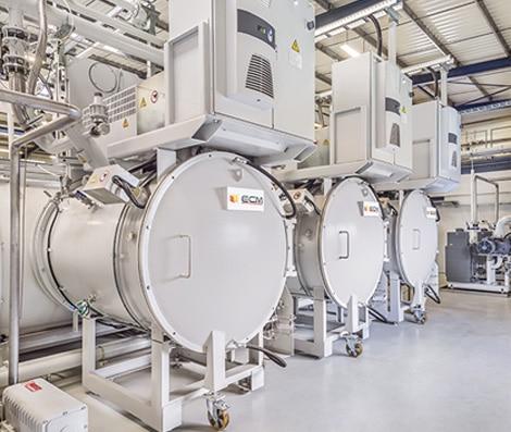 Industrial Furnace Manufacturer | Constructeur de four industriel - ECM Technologies